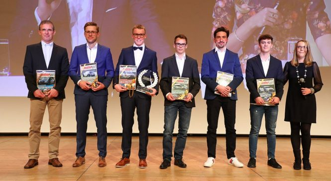 Гонщикам и руководителям вручили награды в рамках автошоу в Эссене
