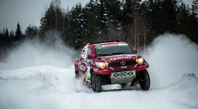 Аль-Аттия стал победителем снежной бахи «Россия — Северный лес»