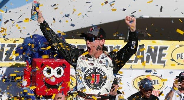 Кевин Харвик одержал победу в Лас-Вегасе