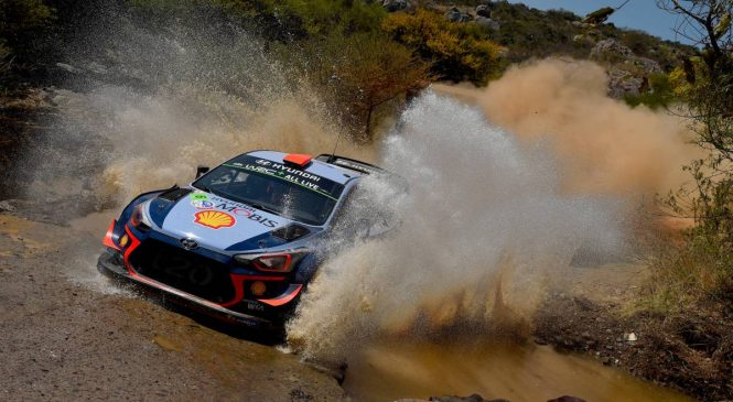WRC: Утренние страсти в Мексике