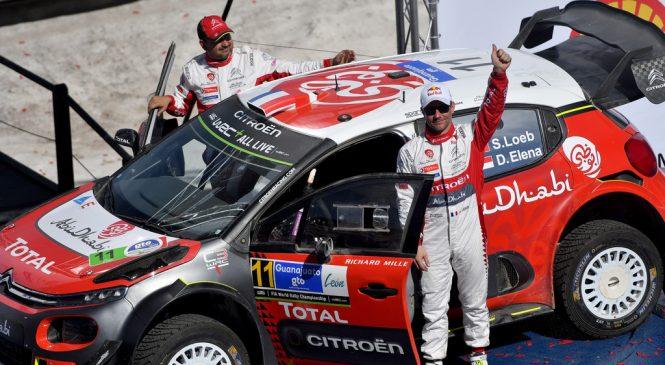 """В """"Ситроене"""" думают над расширением программы Себастьена Лёба в WRC"""