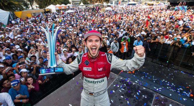 """Абт одержал свою первую победу в """"Формуле-Е"""", выиграв гонку в Мексике"""