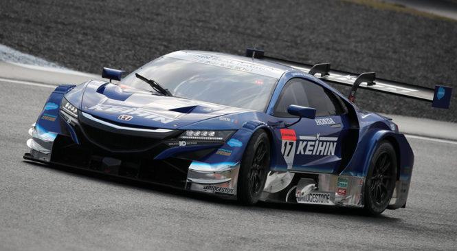 «Хонда» добилась победного дубля в Окаяме, экипаж Баттона на подиуме