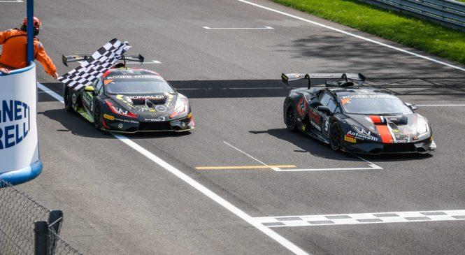Успех «Антонелли Моторспорт» на старте европейского «Супер Трофео»
