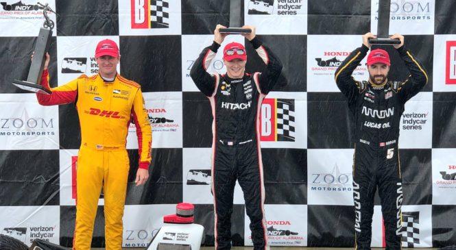 Джозеф Ньюгарден — трёхкратный победитель Гран-при Алабамы