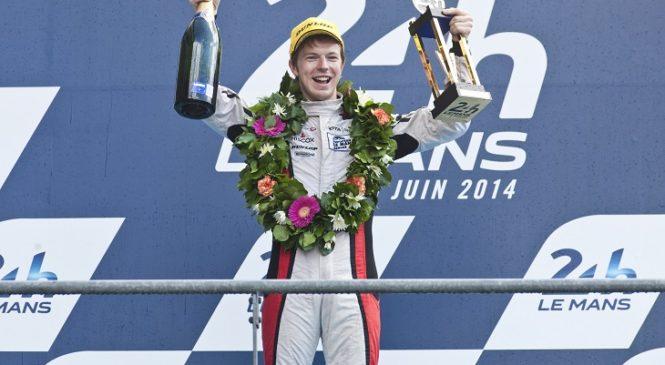 Оливер Тёрви возвращается в гонки спортивных автомобилей