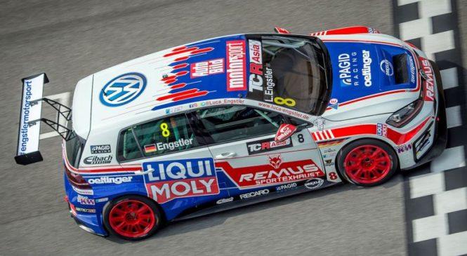«Ликви Моли Тим Энгштлер» доминирует на первом этапе азиатской серии TCR в Сепанге