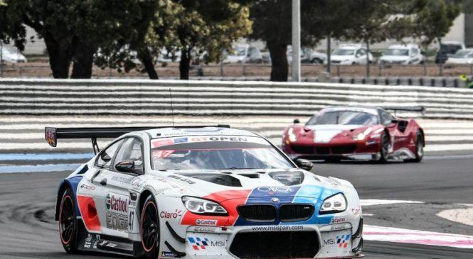 «БМВ Тео Мартин» добилась победы в первой гонке ГТ Оупен» на «Поль Рикар»