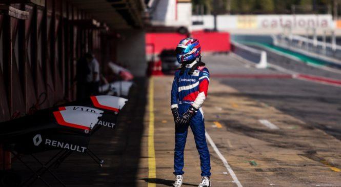 Смоляр стал лучшим в первой тренировке этапа североевропейской ФР2.0 в По