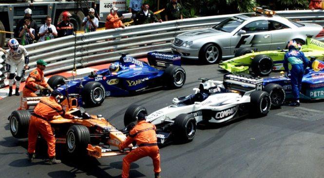 Большой приз Монако и автомобиль безопасности
