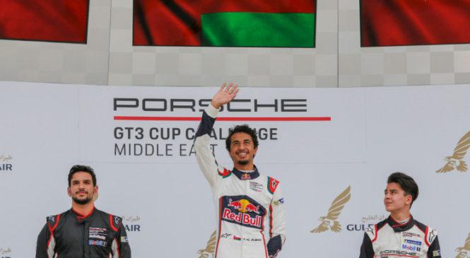 Ближневосточный Кубок Порше: первый титул оманского гонщика
