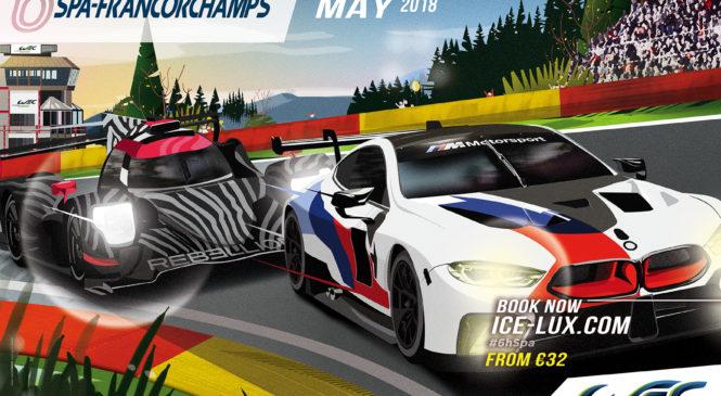 Круг по трассе Спа с гонщиками спорткаров