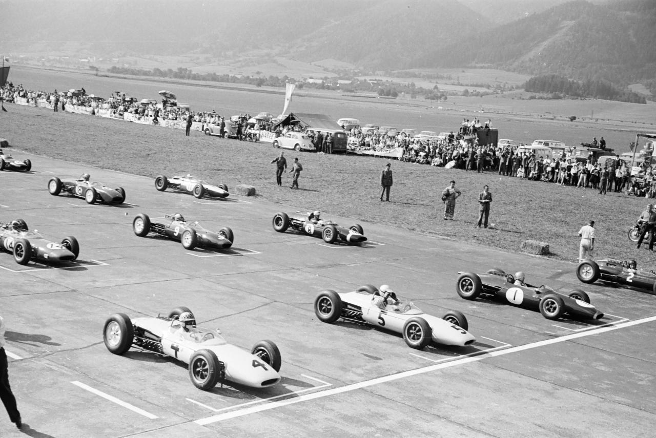 Стартовое поле БП Австрии 1963 года