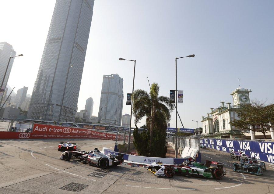 """Гонка """"Формулы-Е"""" в Гонконге"""