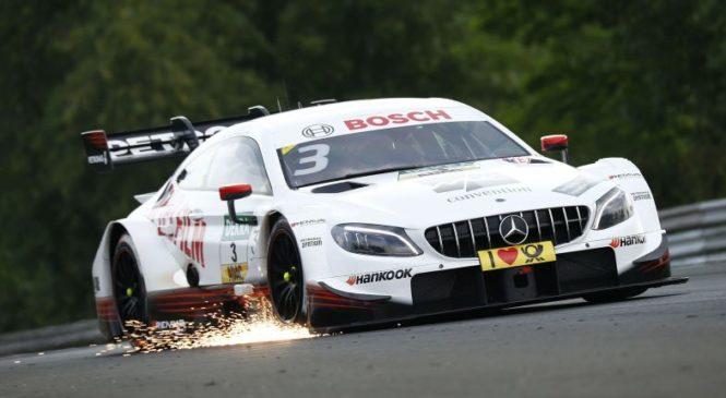 Вновь «Мерседес-АМГ»: Ди Реста выиграл первую гонку ДТМ в Венгрии