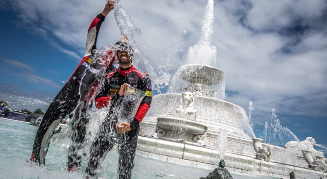 Детройт: первая победа Фелипе Насра в США