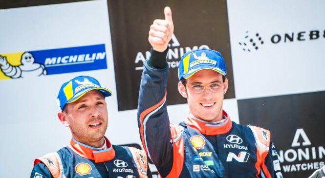 Ралли Сардинии: Тьерри Нёвилль оформил третью победу в сезоне