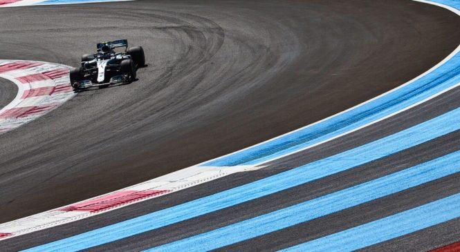 Боттас стал быстрейшим по результатам третьей тренировки Гран-при Франции, Сироткин – 14-й