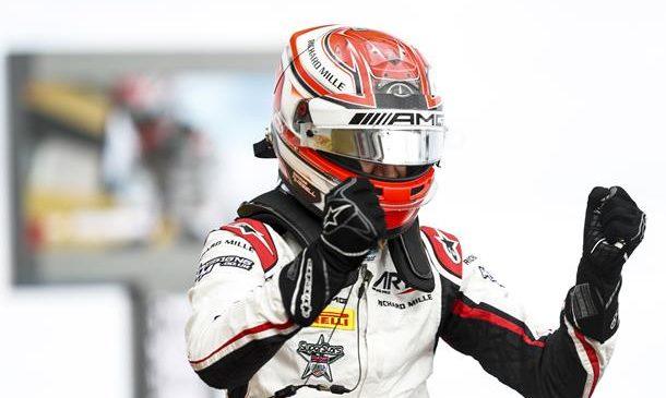 Расселл выиграл первую гонку «Формулы-2» в Ле-Кастелле, Маркелов — 15-й