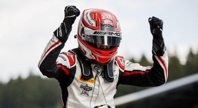 Расселл выиграл первую гонку «Формулы-2» в Австрии. Маркелов стартует с поула в воскресенье