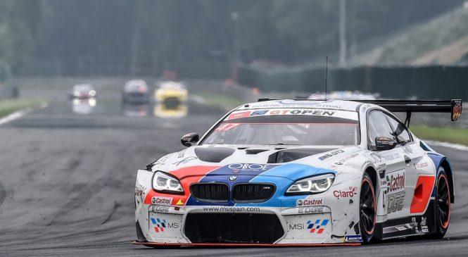 «БМВ Тео Мартин» выиграла вторую гонку «ГТ Оупен» в Спа