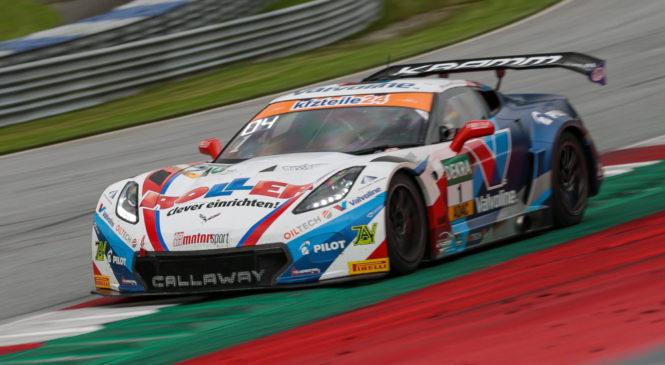 Кайлвиц и Кирхгофер выиграли дождевую вторую гонку «АДАК ГТ» в Австрии