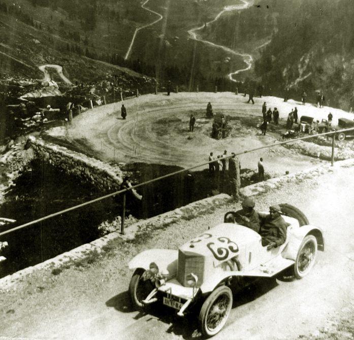 Вальтер Кауфманн на перевале Клаузен в 1923 году