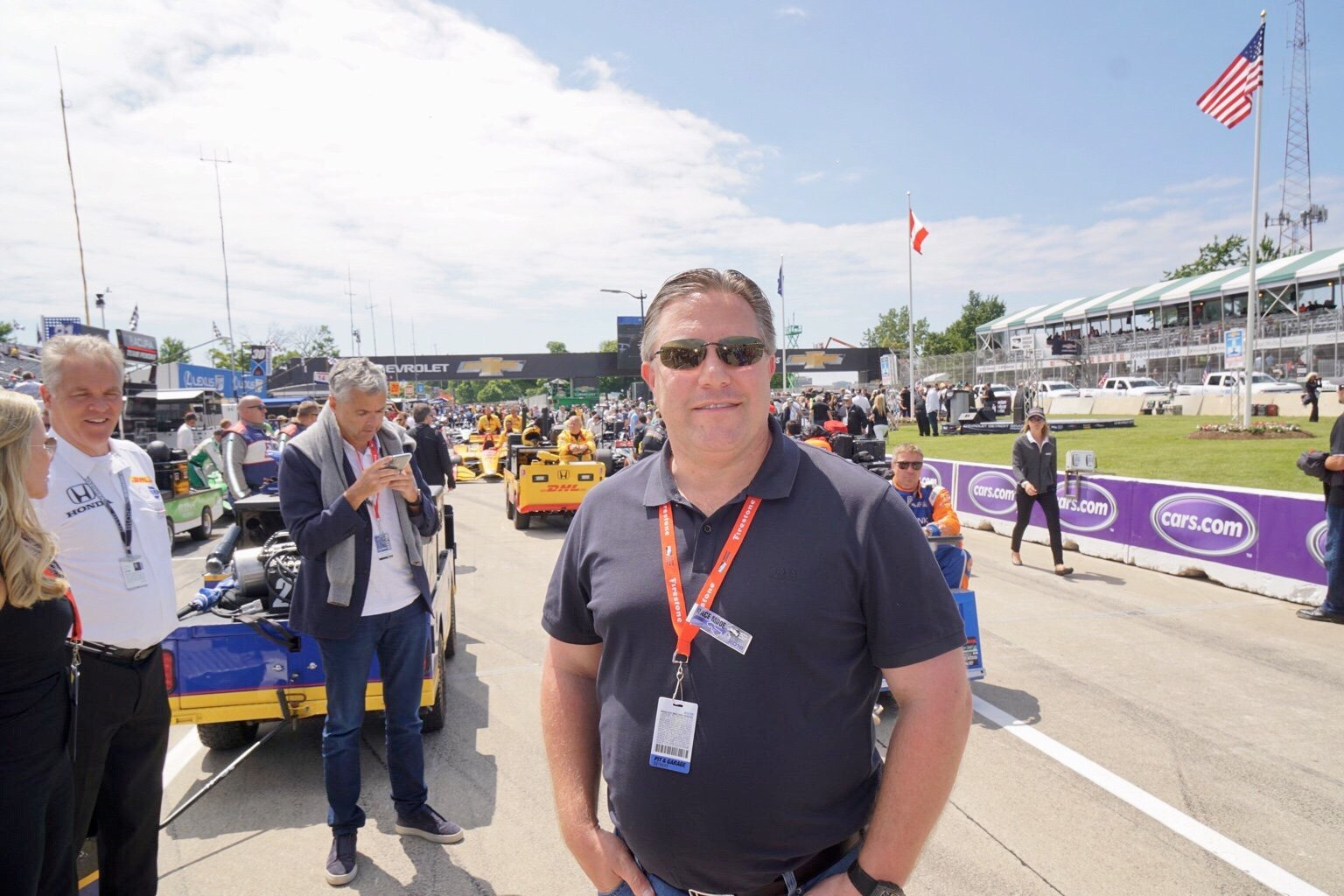 Зак Браун на Гран-при Детройта