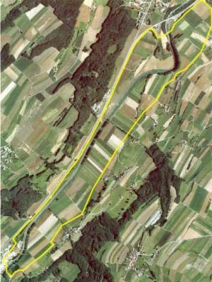 Проект 4,2-километровой трассы в Моудоне