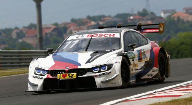 Виттманн выиграл хаотичную вторую гонку ДТМ в Венгрии
