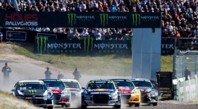 Кристофферссон выиграл домашнюю гонку WorldRX