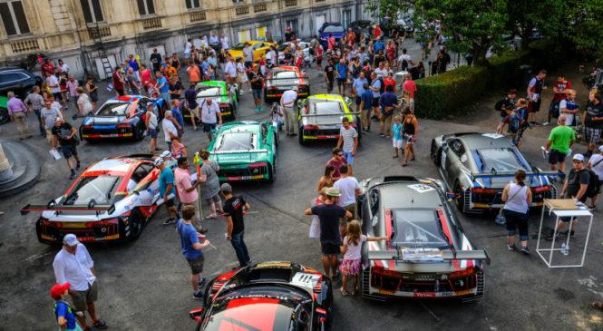 В Спа состоялся традиционный парад машин в преддверии марафона