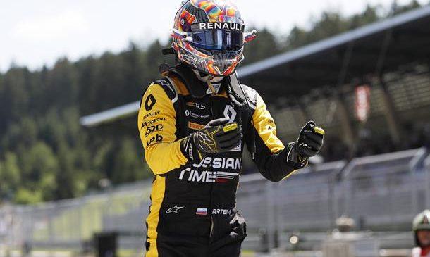 Маркелов выиграл вторую гонку в Австрии, Расселл стал лидером чемпионата