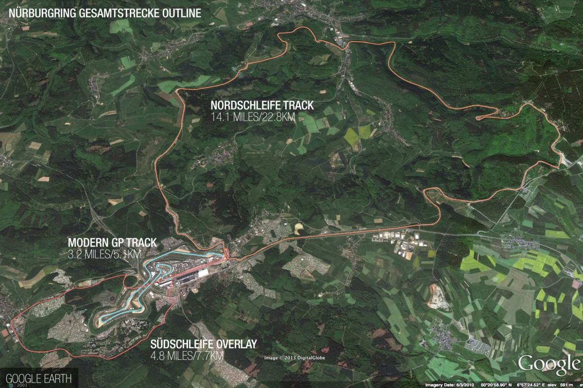 28-километровая версия Нюрбургринга