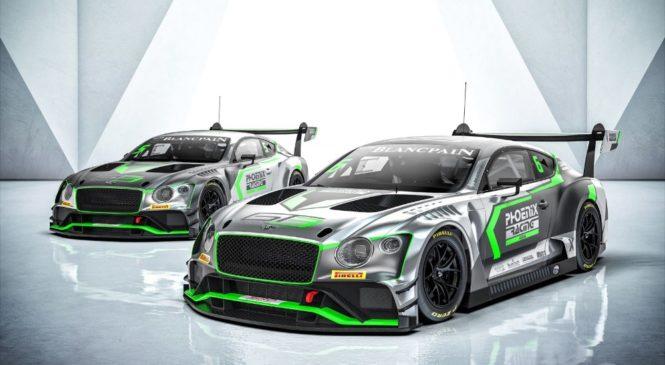 «Феникс Рэйсинг Азия» первой из клиентских команд опробует новый «Бентли Континенталь ГТ3»