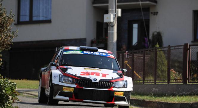Николай Грязин выиграл квалификацию Ралли Чехии