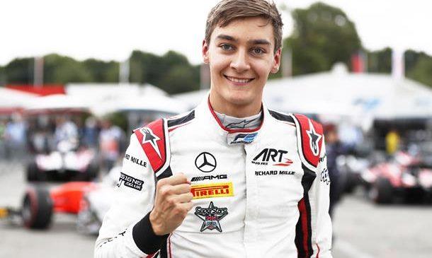 Джордж Расселл завоевал поул к первой гонке «Формулы-2» в Италии. Маркелов стартует четвертым