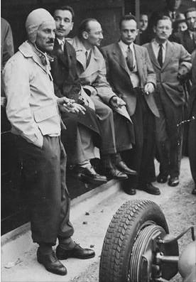 Франц Гувьон на БП Бельгии 1937 года