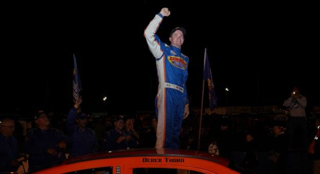 Дерек Торн победил в Монро