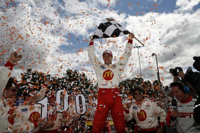 Победа Себастьена Бурдє в Потрленде в 2007-м