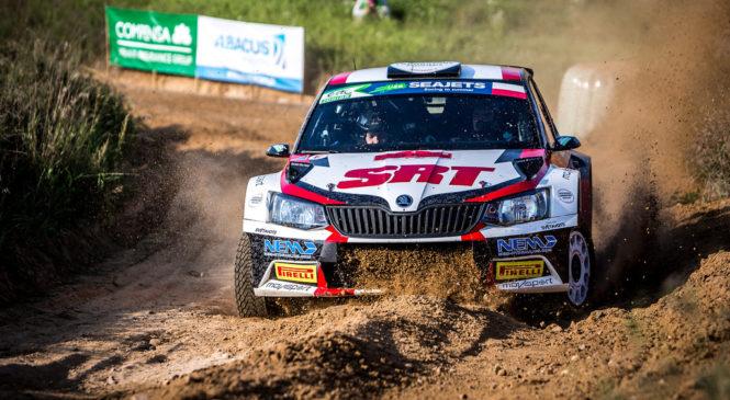 Николай Грязин одержал победу в польском этапе ERC, Лукьянюк сошёл с дистанции