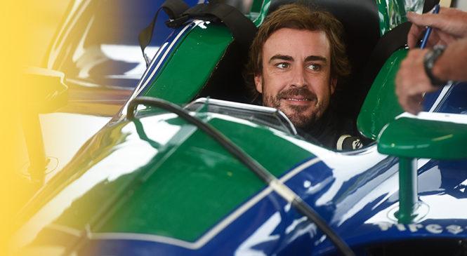 Фернандо Алонсо провёл тесты на дорожнике «Индикара»
