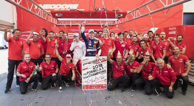 «Према» оформила досрочную победу в командном зачёте Ф3
