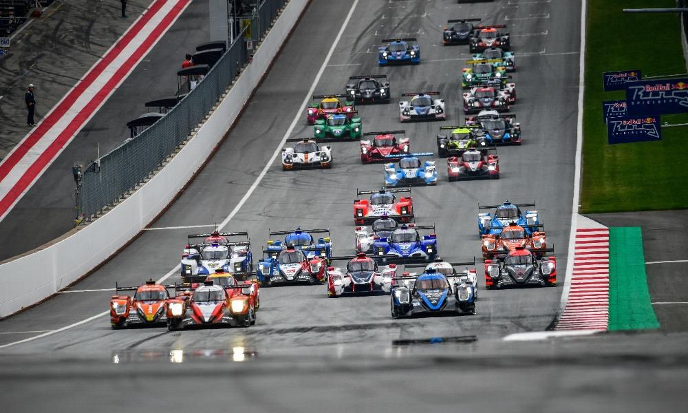 """Старт гонки ELMS на """"Ред Булл Ринг"""""""
