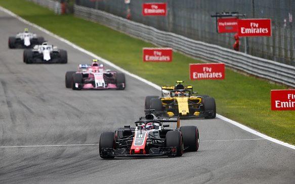 Хаас и Рено продолжают спорить по поводу результатов гонки в Монце