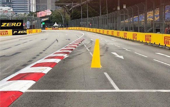 ФИА недовольны нарушениями предел трассы в Сингапуре