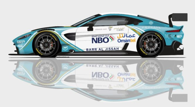 Три новых «Астон Мартин Вэнтедж ГТ3» выступят в марафоне «12 часов Абу-Даби»