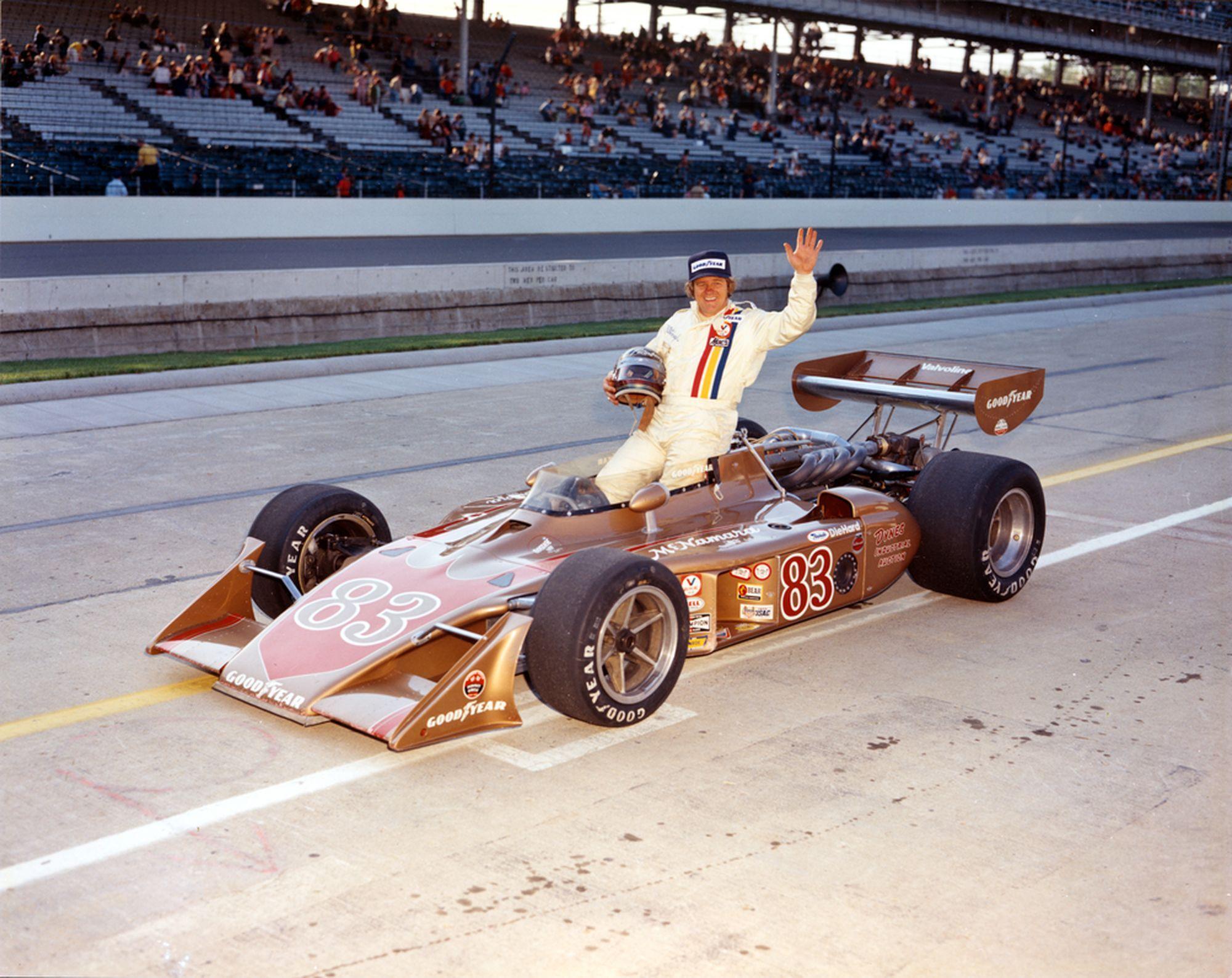 Билл Путербо в Индианаполисе в 1975 году