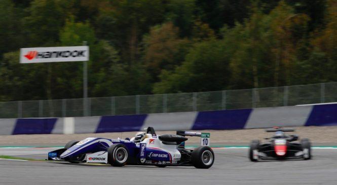 Шварцман выиграл заключительную гонку Ф3, став третьим в чемпионате