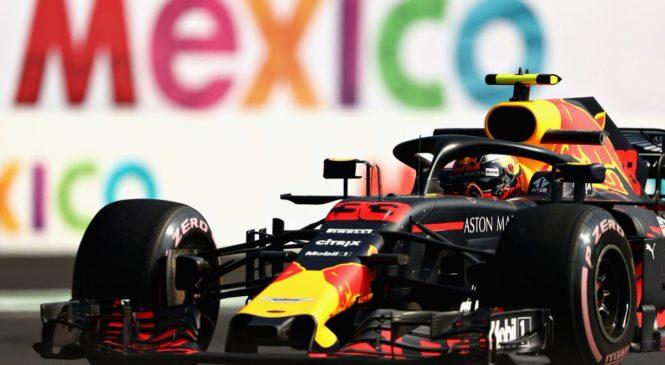 Верстаппен стал лучшим в первой тренировке в Мексике, Сайнс — третий